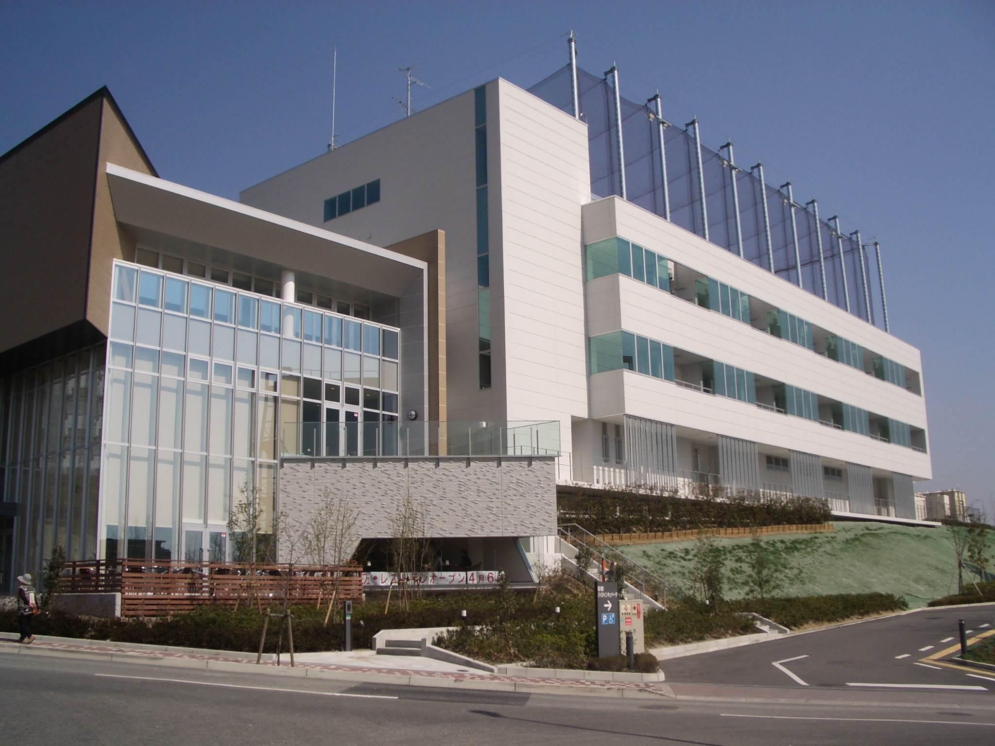 彩都バイオヒルズセンターの外観写真です。